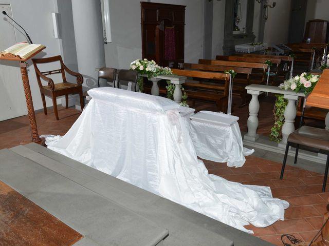 Il matrimonio di Davide e Elma a Pieve a Nievole, Pistoia 8