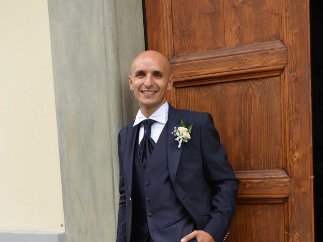 Il matrimonio di Davide e Elma a Pieve a Nievole, Pistoia 11