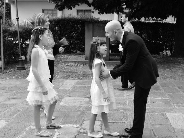 Il matrimonio di Davide e Elma a Pieve a Nievole, Pistoia 16