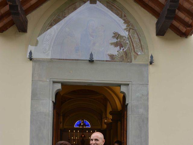 Il matrimonio di Davide e Elma a Pieve a Nievole, Pistoia 22
