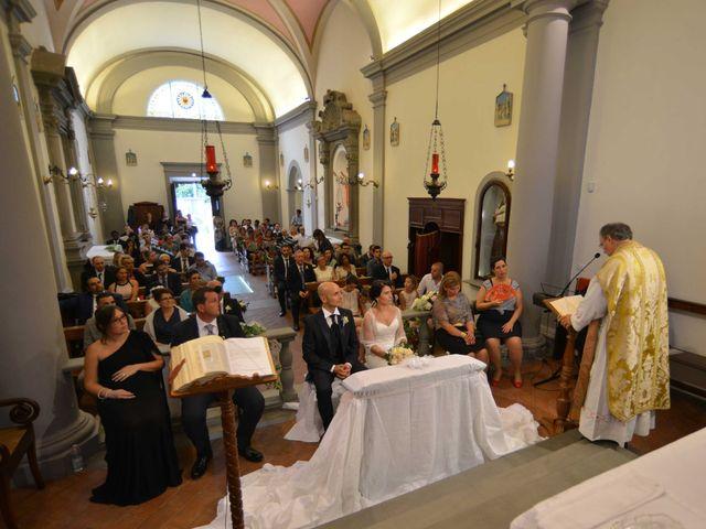 Il matrimonio di Davide e Elma a Pieve a Nievole, Pistoia 30