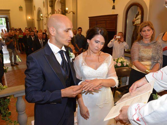 Il matrimonio di Davide e Elma a Pieve a Nievole, Pistoia 31