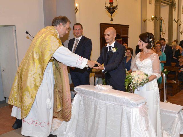 Il matrimonio di Davide e Elma a Pieve a Nievole, Pistoia 35