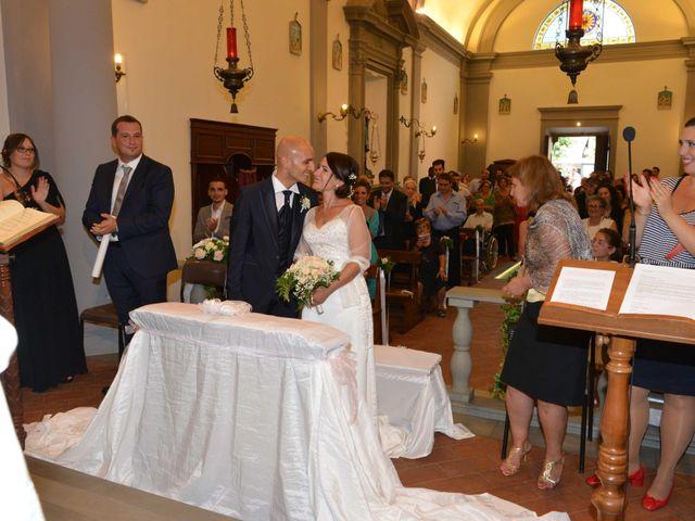 Il matrimonio di Davide e Elma a Pieve a Nievole, Pistoia 36