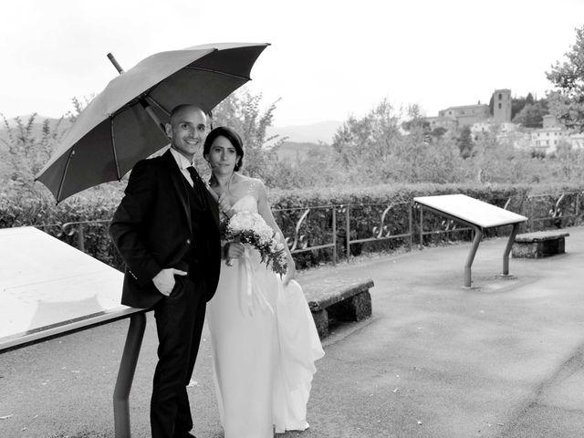 Il matrimonio di Davide e Elma a Pieve a Nievole, Pistoia 45