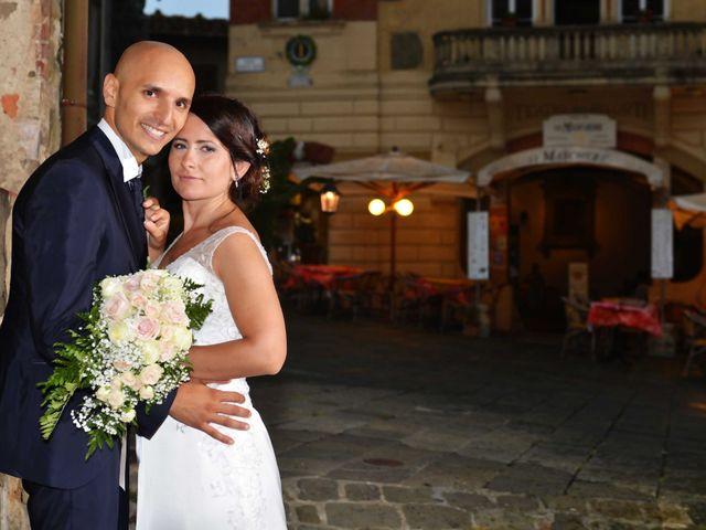 Il matrimonio di Davide e Elma a Pieve a Nievole, Pistoia 57