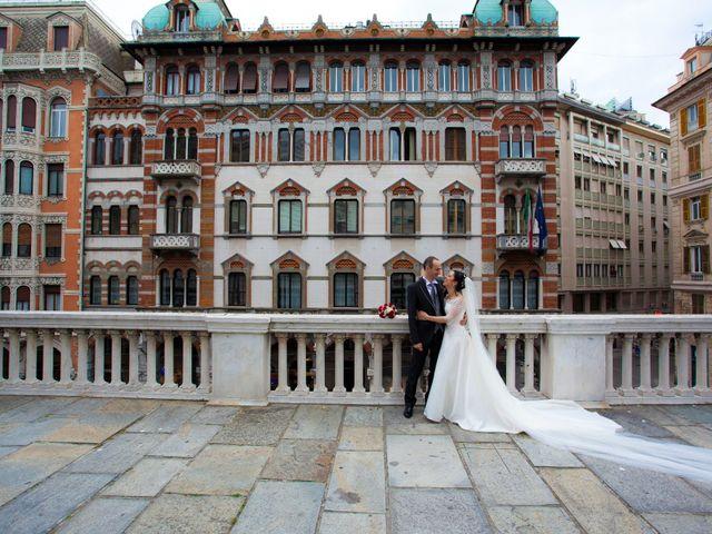 Il matrimonio di Simone e Loriana a Genova, Genova 36