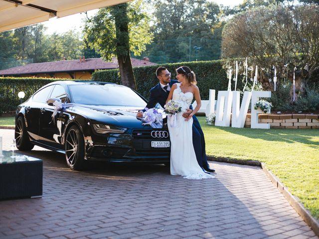 Il matrimonio di Simone e Gloria a Solaro, Milano 2