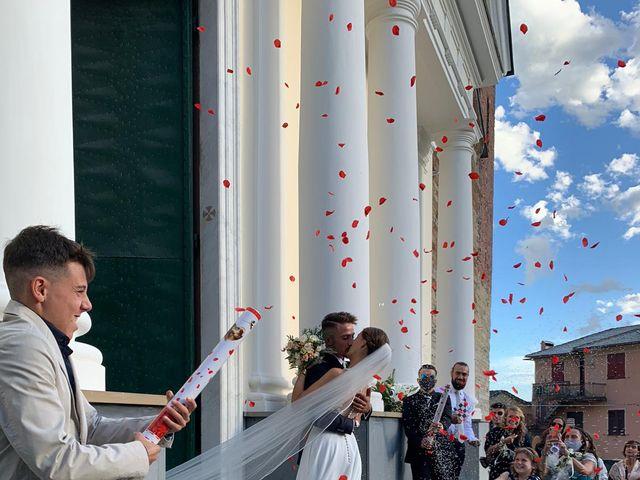 Il matrimonio di Erik e Federica a Uscio, Genova 1
