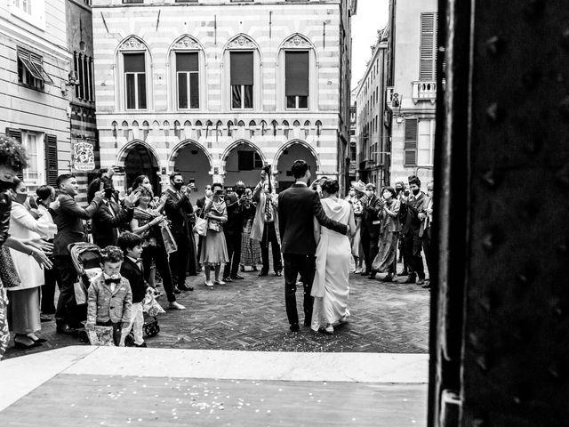 Il matrimonio di Huei-YI e Mattia a Genova, Genova 11