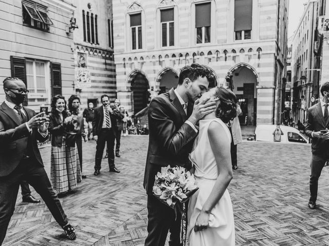 Il matrimonio di Huei-YI e Mattia a Genova, Genova 12