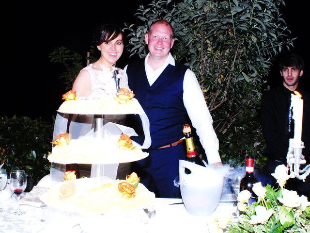 Il matrimonio di Michael e Claire a Poppi, Arezzo 3