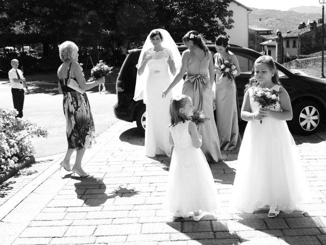 Il matrimonio di Michael e Claire a Poppi, Arezzo 5
