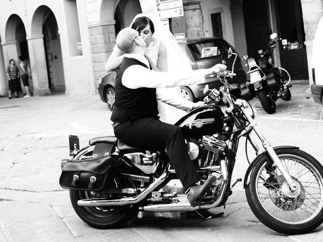 Il matrimonio di Michael e Claire a Poppi, Arezzo 1