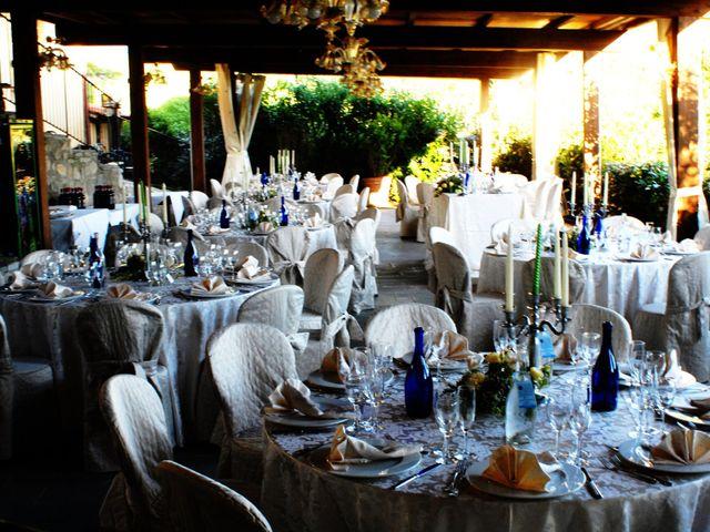 Il matrimonio di Michael e Claire a Poppi, Arezzo 13