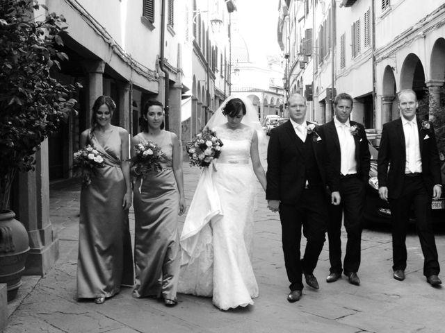 Il matrimonio di Michael e Claire a Poppi, Arezzo 23