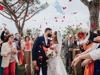 Le nozze di Wendy e Raffaele