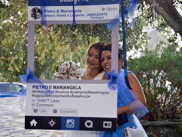Il matrimonio di Pietro e Mariangela a Paulilatino, Oristano 141