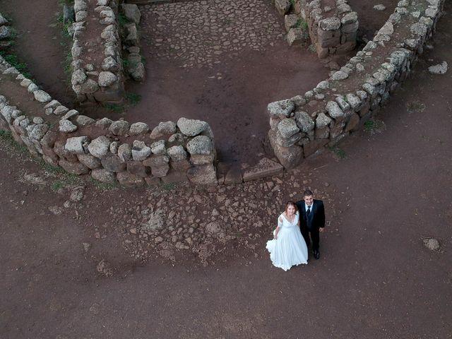 Il matrimonio di Pietro e Mariangela a Paulilatino, Oristano 113