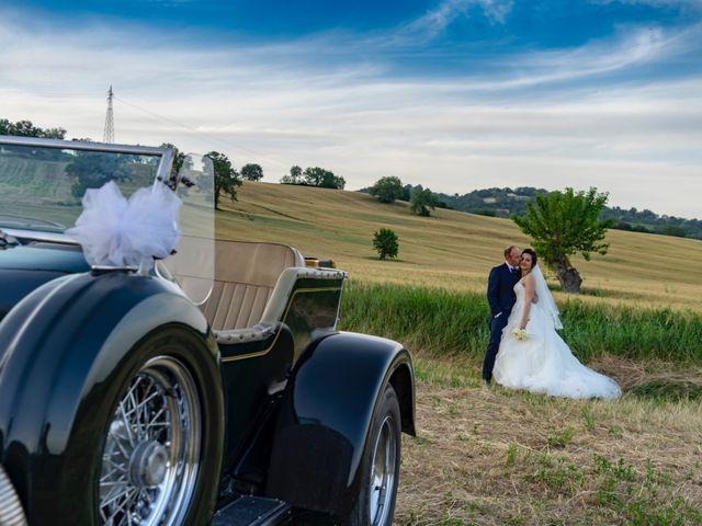 Il matrimonio di Samuele e Federica a Pergola, Pesaro - Urbino 13