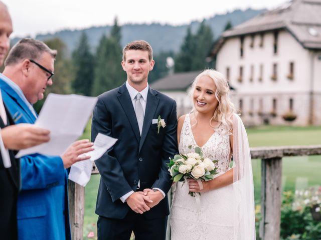 Il matrimonio di Guliana e Avery a Asiago, Vicenza 28