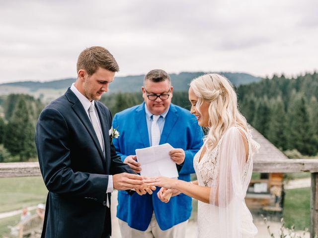 Il matrimonio di Guliana e Avery a Asiago, Vicenza 31