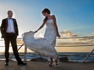 Le nozze di Stefania e Theo