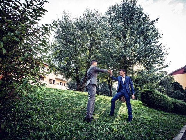Il matrimonio di Gabriele e Erika a San Pellegrino Terme, Bergamo 11