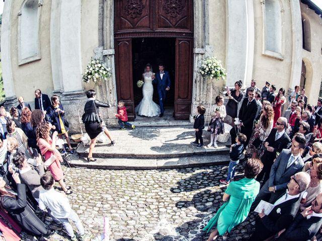 Il matrimonio di Gabriele e Erika a San Pellegrino Terme, Bergamo 54