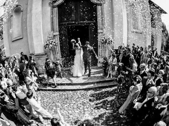 Il matrimonio di Gabriele e Erika a San Pellegrino Terme, Bergamo 55
