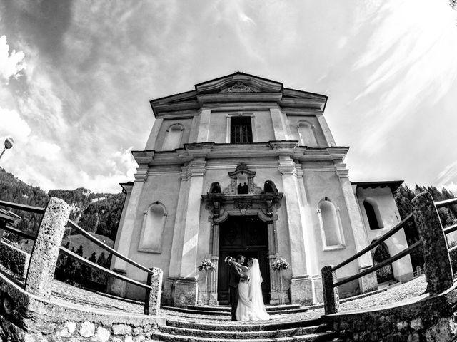 Il matrimonio di Gabriele e Erika a San Pellegrino Terme, Bergamo 58