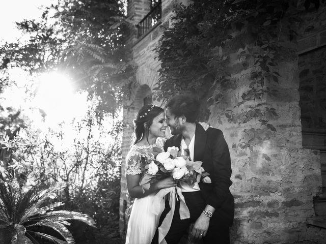 Il matrimonio di Filippo e Cristina a Brisighella, Ravenna 34