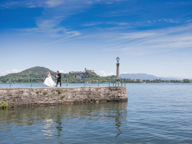 Il matrimonio di Andrea e Lucilla a Arona, Novara 24