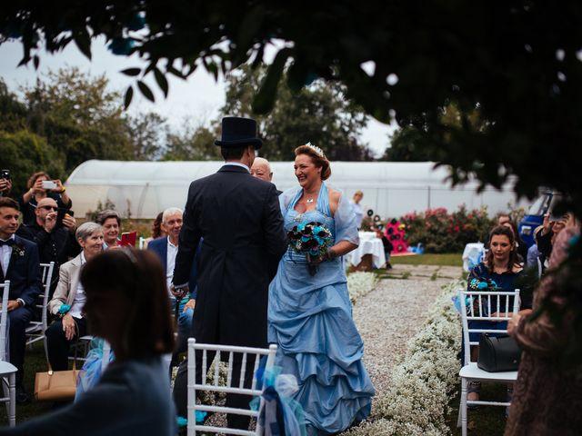 Il matrimonio di Dino e Silvia a Monticello Brianza, Lecco 12