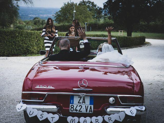 Il matrimonio di Simone e Claudia a Bassano Romano, Viterbo 22