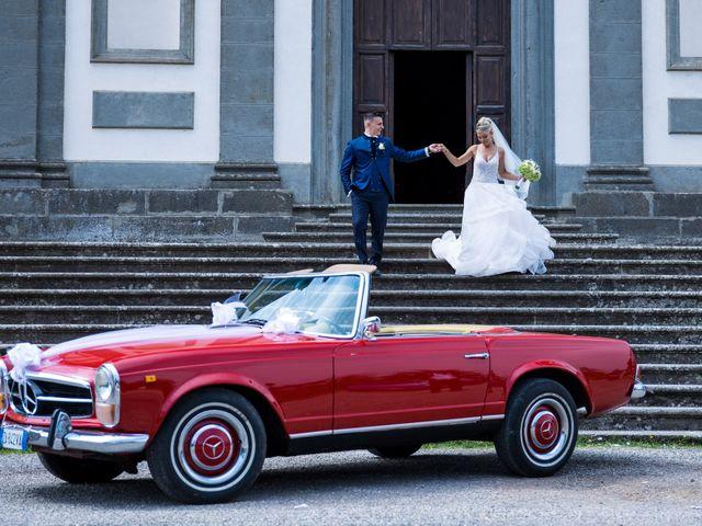Il matrimonio di Simone e Claudia a Bassano Romano, Viterbo 38