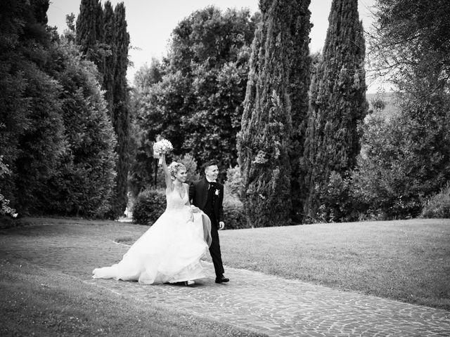 Il matrimonio di Simone e Claudia a Bassano Romano, Viterbo 48