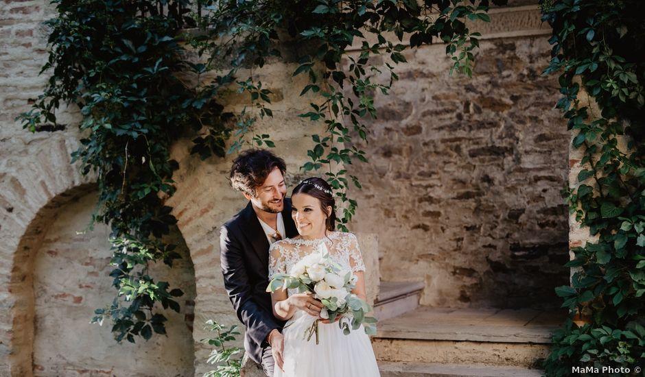 Il matrimonio di Filippo e Cristina a Brisighella, Ravenna