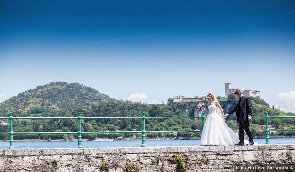 Il matrimonio di Andrea e Lucilla a Arona, Novara