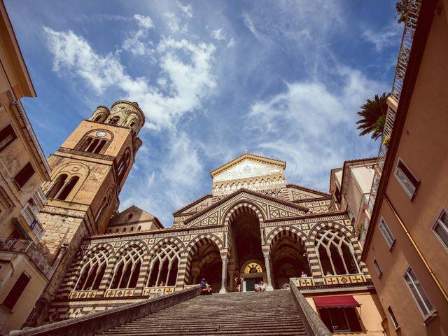 Il matrimonio di Guillerme e Mayara a Praiano, Salerno 3