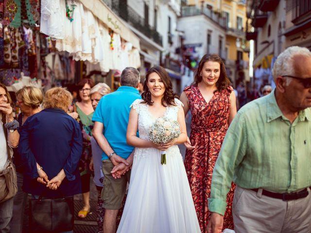 Il matrimonio di Guillerme e Mayara a Praiano, Salerno 19