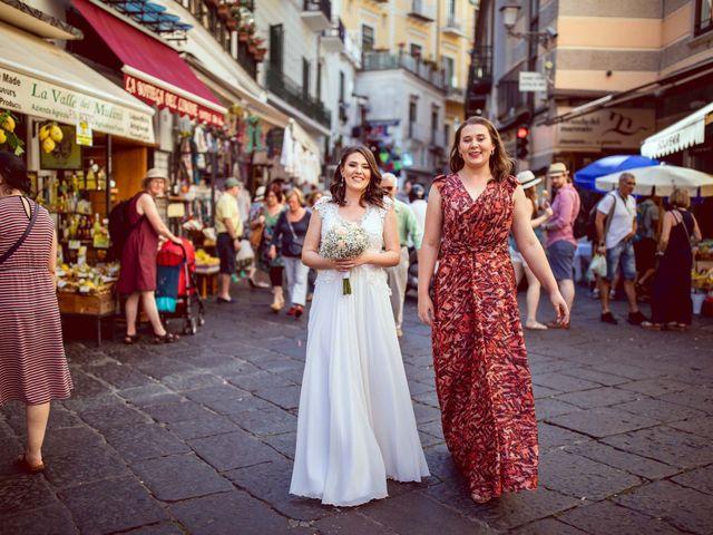 Il matrimonio di Guillerme e Mayara a Praiano, Salerno 20