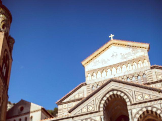 Il matrimonio di Guillerme e Mayara a Praiano, Salerno 1
