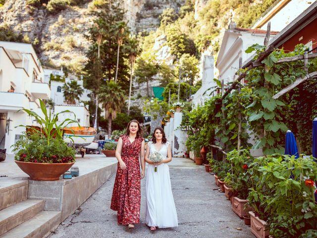 Il matrimonio di Guillerme e Mayara a Praiano, Salerno 24
