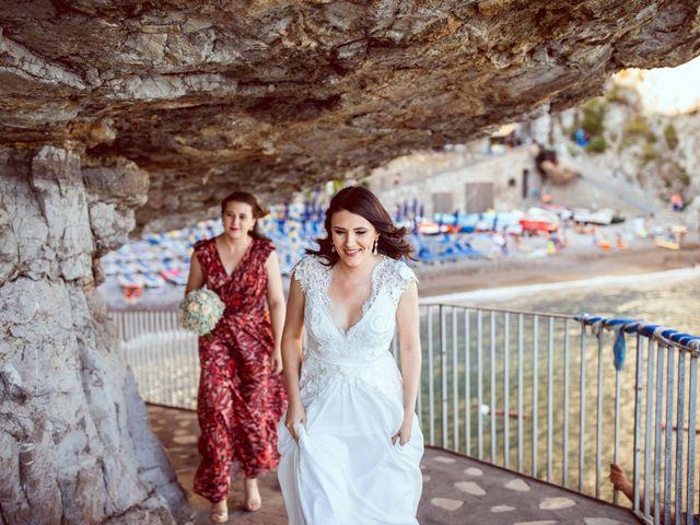 Il matrimonio di Guillerme e Mayara a Praiano, Salerno 25