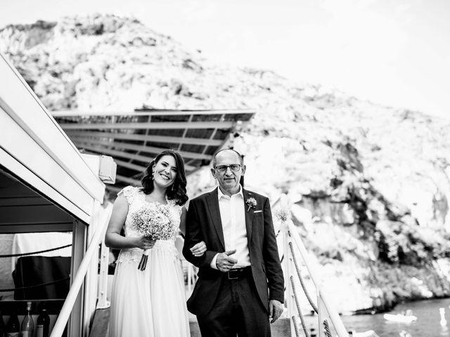 Il matrimonio di Guillerme e Mayara a Praiano, Salerno 26