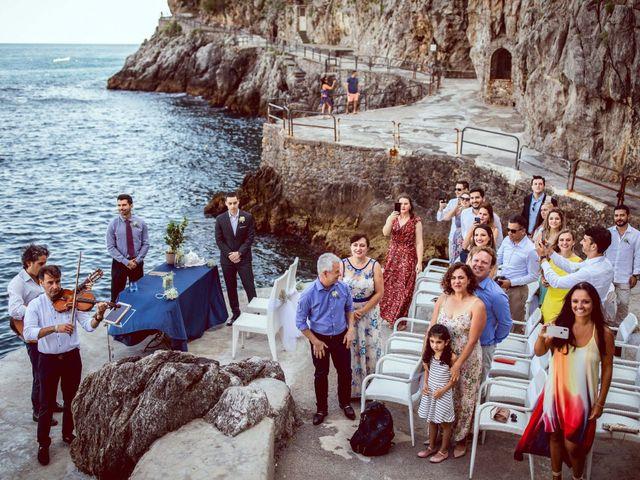 Il matrimonio di Guillerme e Mayara a Praiano, Salerno 27