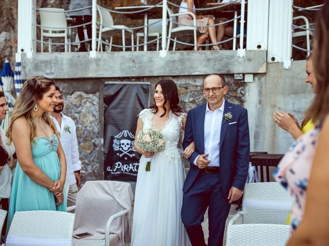 Il matrimonio di Guillerme e Mayara a Praiano, Salerno 29