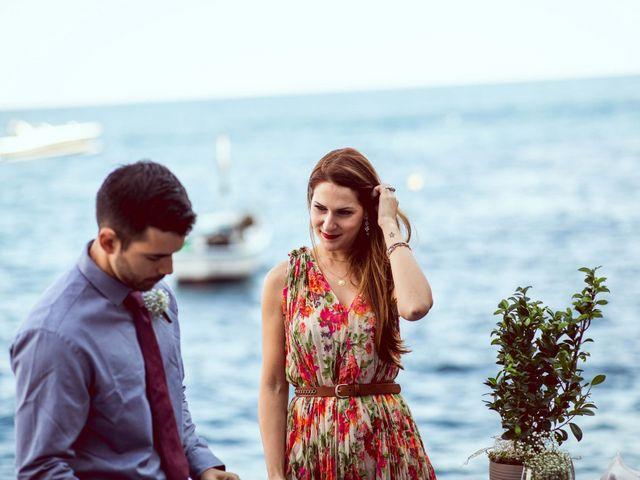 Il matrimonio di Guillerme e Mayara a Praiano, Salerno 36