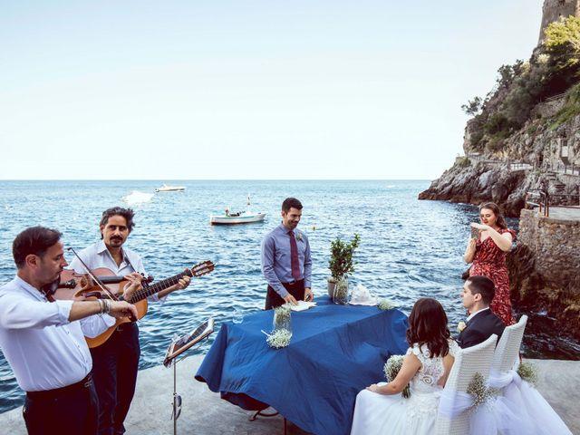 Il matrimonio di Guillerme e Mayara a Praiano, Salerno 39